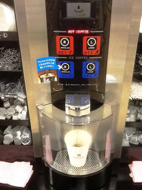 セブンイレブンコーヒーマシン