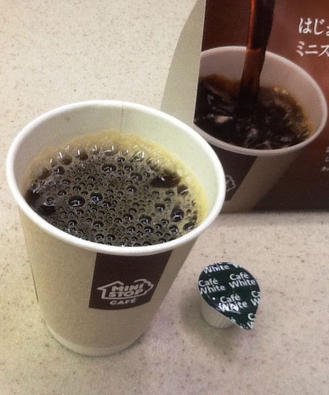 ミニストップコーヒーカップ