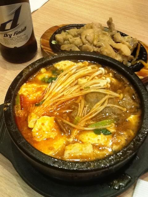 香港で食べる韓国料理