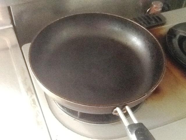 コーヒー焙煎用フライパン1