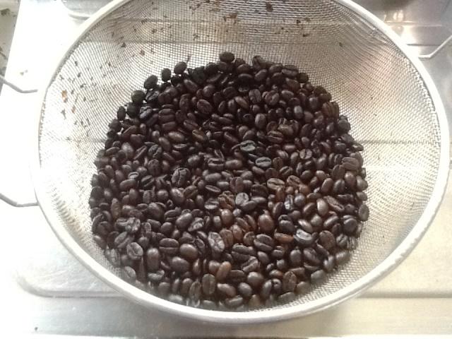 Webライターがコーヒー焙煎12