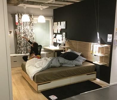 中国IKEAベッド2