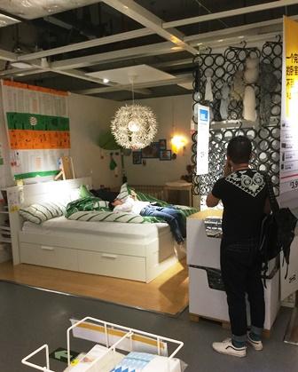 IKEAベッド5