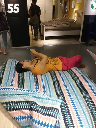 IKEAベッド6