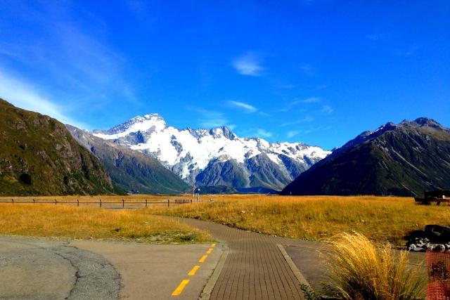 NZのマウント・クック