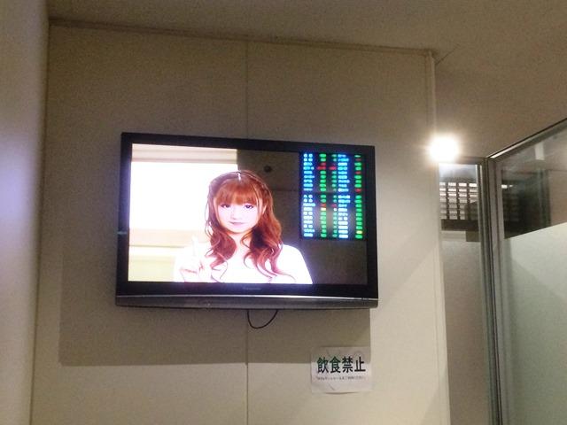 東証内映像室